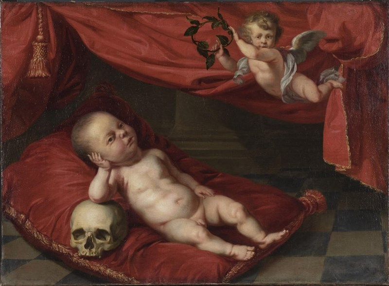 ugly renaissance babies - Painting