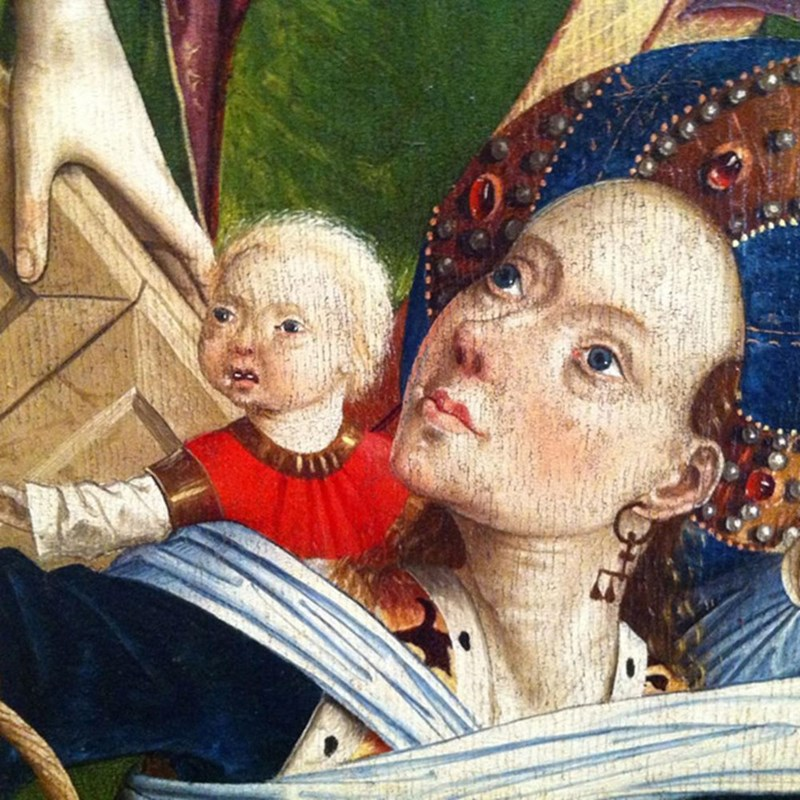 ugly renaissance babies - Child