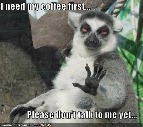 Vertebrate - I need my coffee first... Please don't talk to me yet... CANHASCHEEZEUROER COM