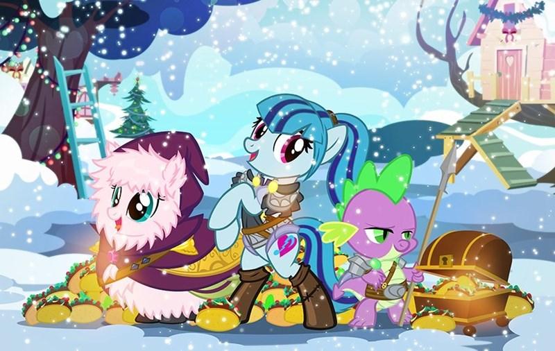 cosplay dungeons and dragons spike flufflepuff sonata dusk pixelkitties - 9104530944