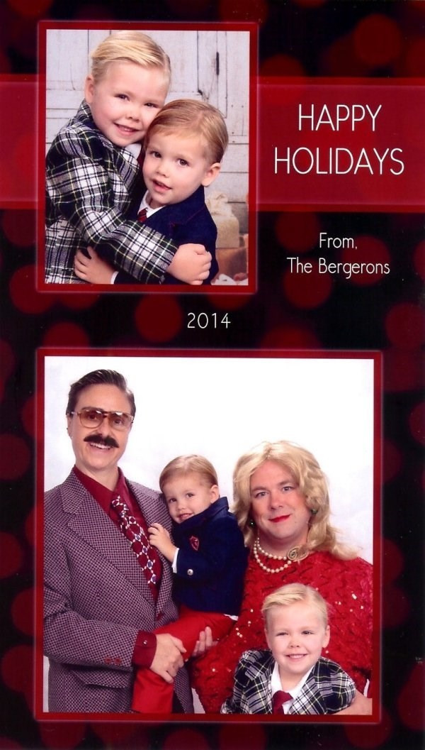 People - HAPPY HOLIDAYS From. The Bergerons 2014