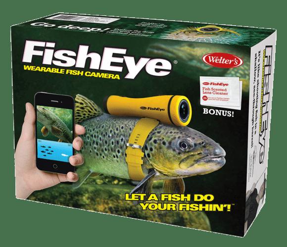 Fish - Co Peep FishEye Welter's WEARABLE ASH CAMERA FishEye Fish Scented Lens Cleaner BONUS! OFishEye LET A FISH DO YOUR FISHINT enw,wee1 nan