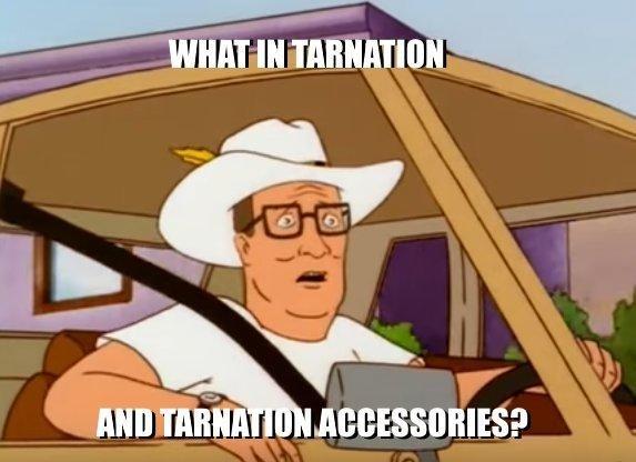 Cartoon - WHATIN TARNATION AND TARNATION ACCESSORIES?