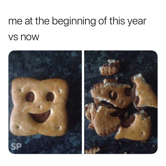 meme - Snack - me at the beginning of this year Vs now SP