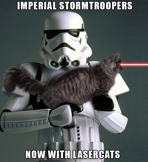 Fictional character - IMPERIAL STORMTROOPERS NOW WITH LASERCATS