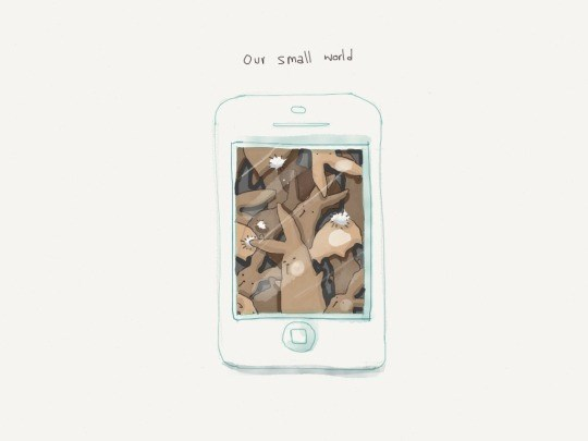 White - Our small orld