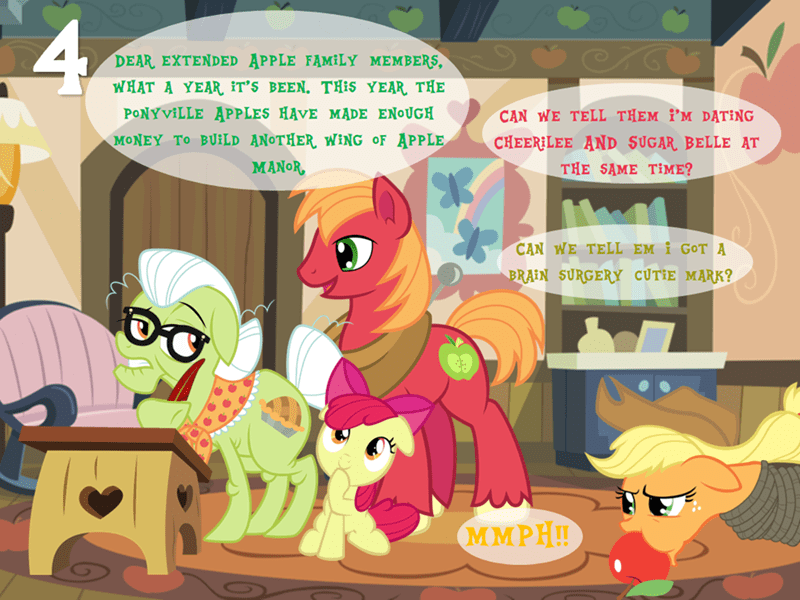 applejack apple bloom Big Macintosh granny smith brony by exception - 9105212928