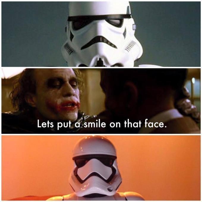 Helmet - Lets put d.smile on that face.