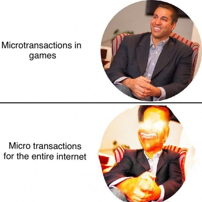 Management - Microtransactions in games Micro transactions for the entire internet