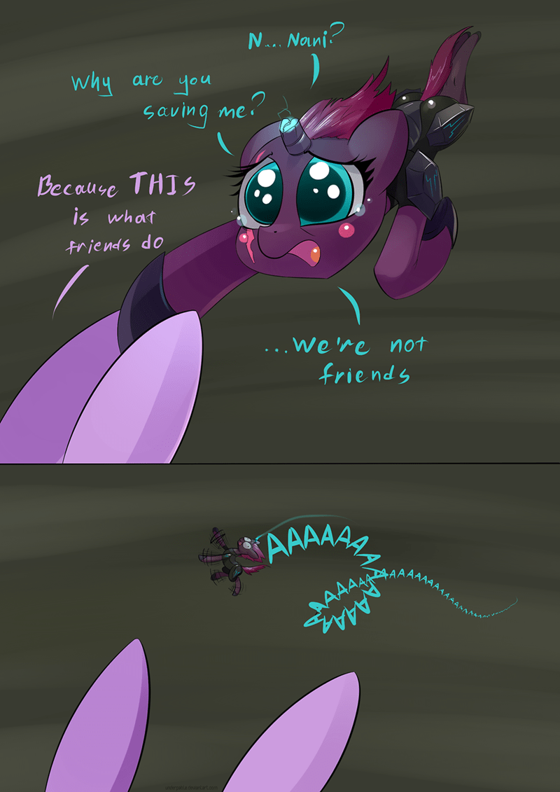comic twilight sparkle tempest shadow my little pony the movie underpable - 9105900544