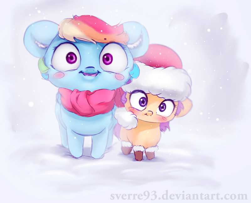 christmas hearths-warming-eve sverre93 Scootaloo rainbow dash - 9106039552