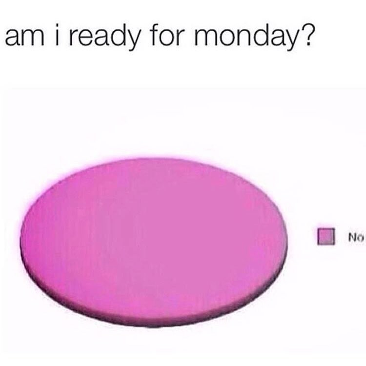 funny meme about mondays.