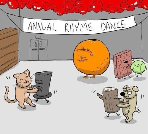 Cartoon - ANNUAL RHYME DANCE <f 7717