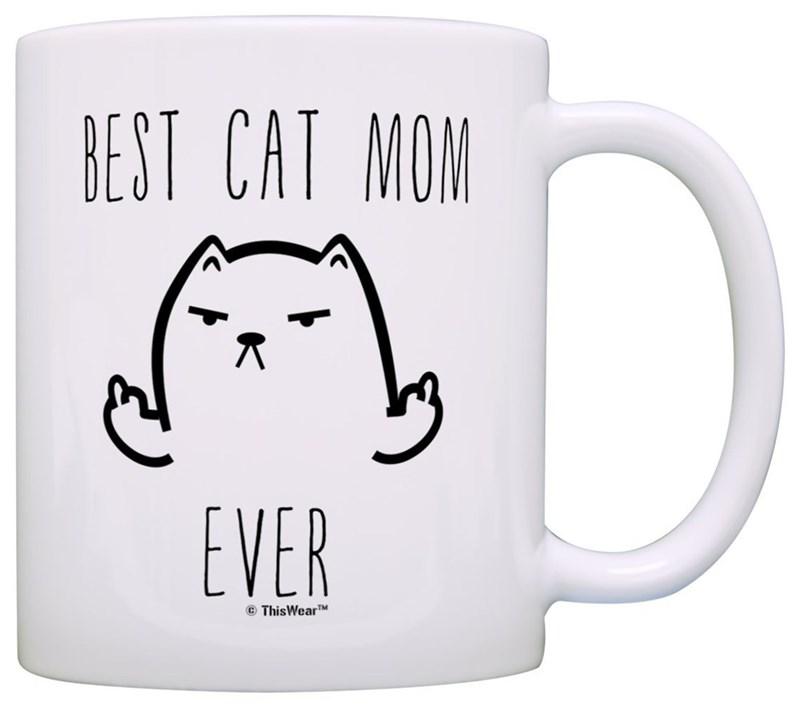 Mug - BEST CAT MON EVER ThisWearT