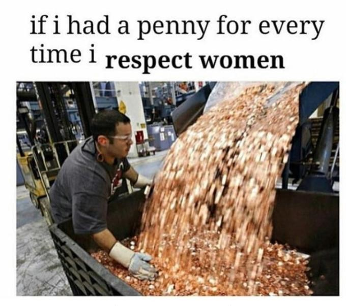 Adaptation - if i had a penny for every time i respect women