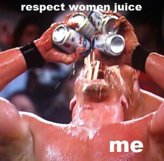 Water - respect women juice me