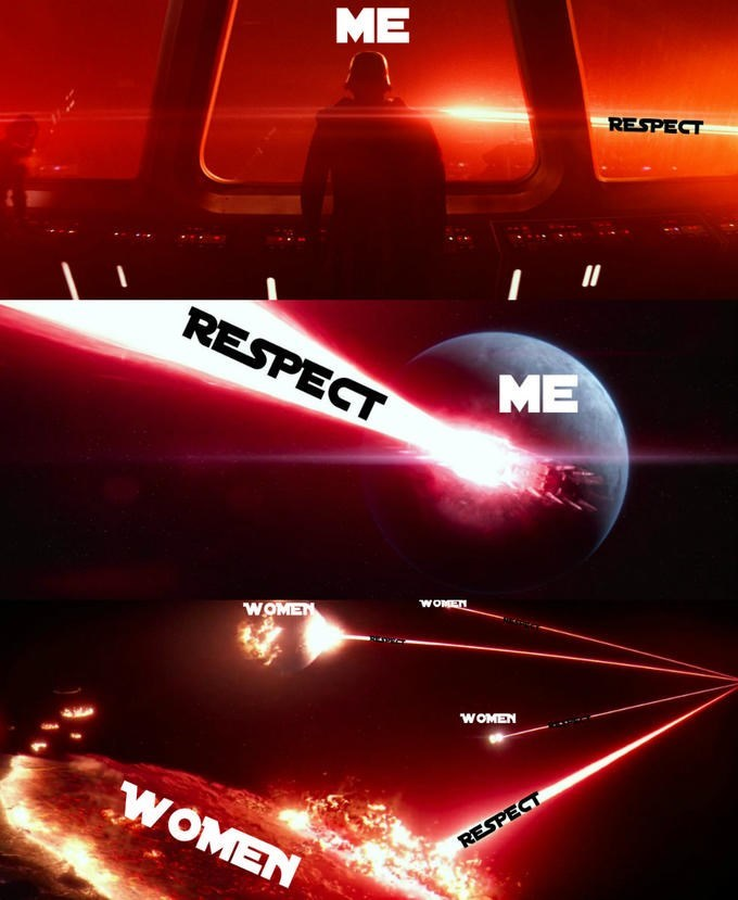 Red - ME RESPECT II RESPECT ME WOMET WOMEN WOMEN WOMEN RESPECT