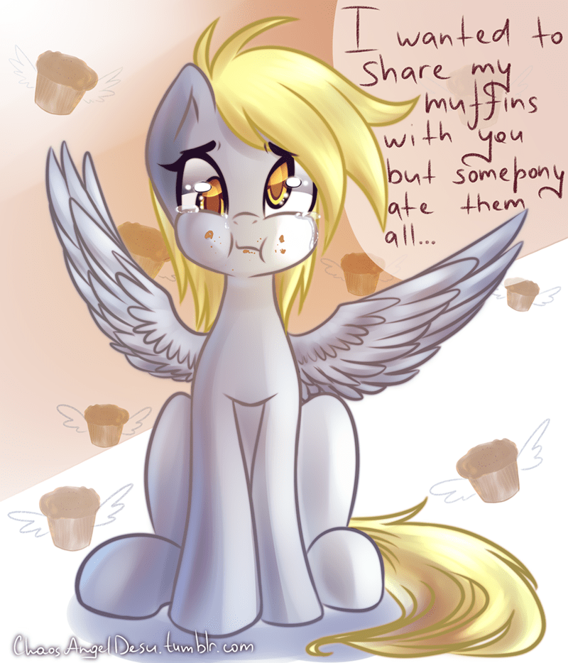 derpy hooves chaos angel desu muffins - 9106929664