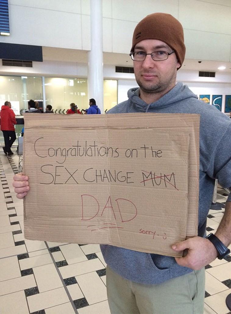 Font - Congratlstions anthe SEX CHANGE MUNM DAD Sorry