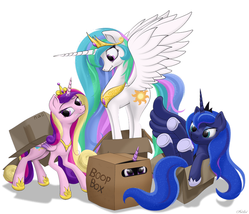 princess cadence boop twilight sparkle princess luna awalex princess celestia acting like animals - 9107791616