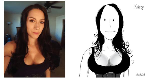 Hair - Kristy sketchyCrab