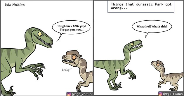 comic dinosaurs funny instagram