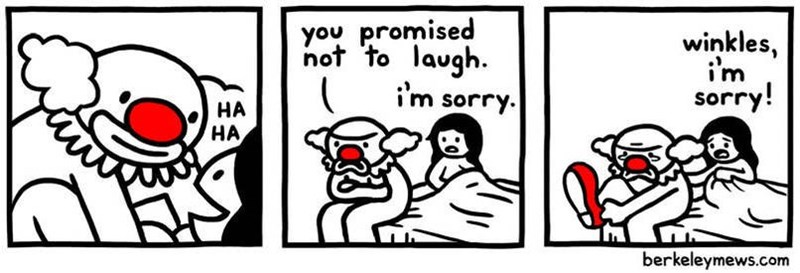 White - you promised not to laugh. winkles, i'm sorry. sorry! НА НА berkeleymews.com