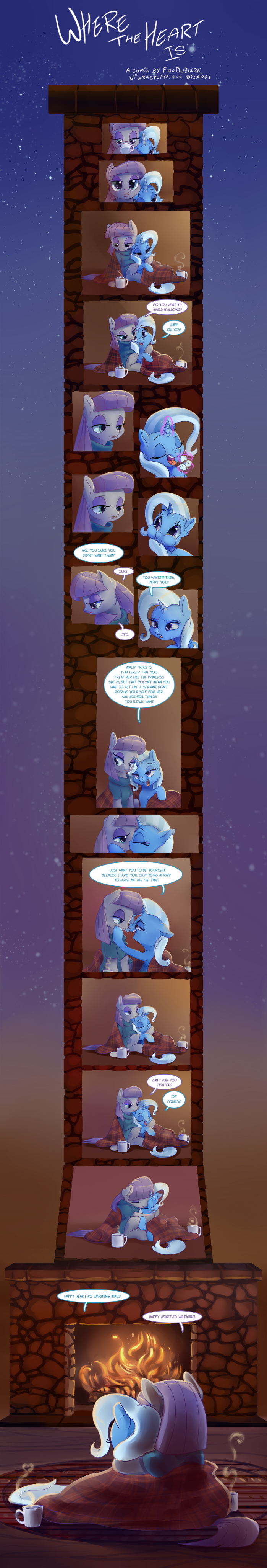shipping the great and powerful trixie dilarus fou dubulbe meet the pones viwrastupr comic maud pie - 9109146112