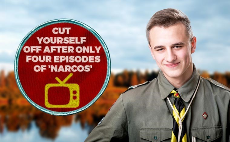 Job - CUT YOURSELF OFF AFTER ONLY FOUR EPISODES OF 'NARCOS