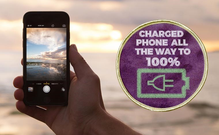 Gadget - CHARGED PHONE ALL THE WAY TO 100%