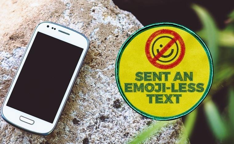 Gadget - SENT AN EMOJI-LESS TEXT