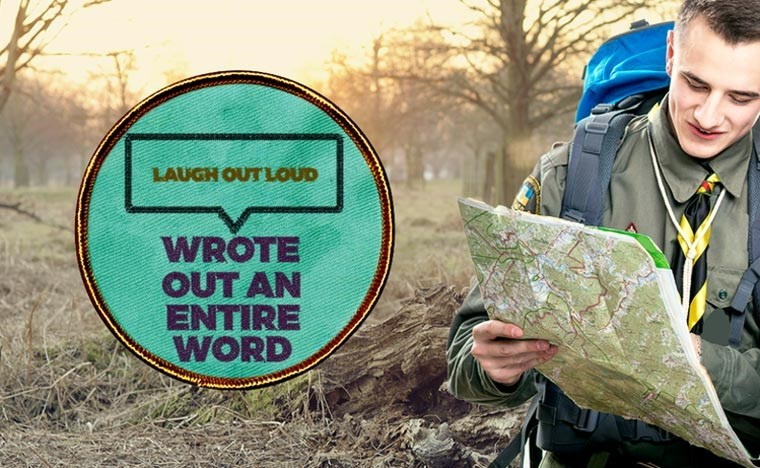 Tree - LAUGH OUTLOUD WROTE OUT AN ENTIRE WORD