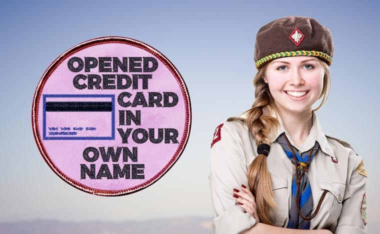 Cap - OPENED CREDIT CARD IN YOUR OWN NAME