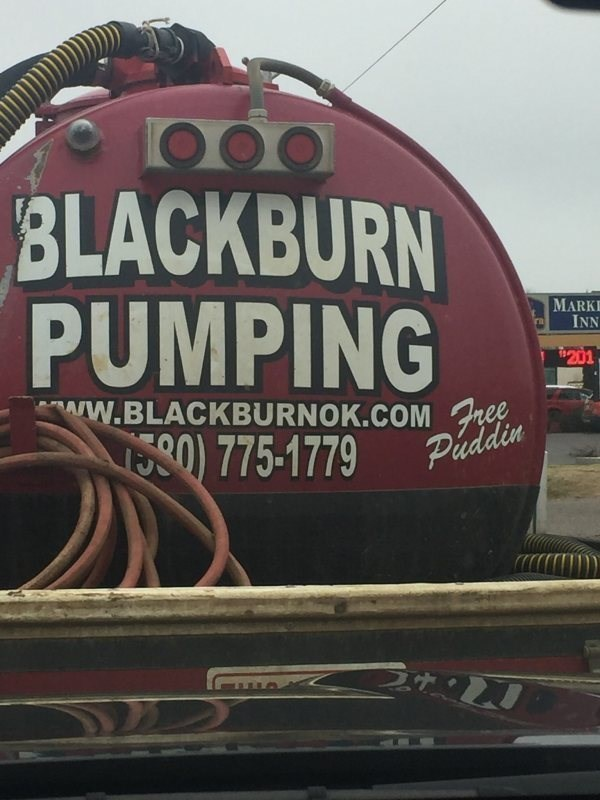 Motor vehicle - BLACKBURN PUMPING MARK INN $201 ww.BLACKBURNOK.COM Free 775-1779 Puddin