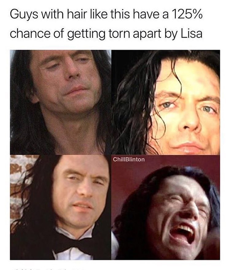Funny meme about the room.