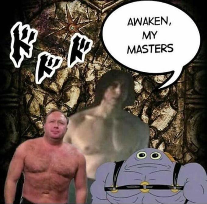Cartoon - AWAKEN, MY MASTERS