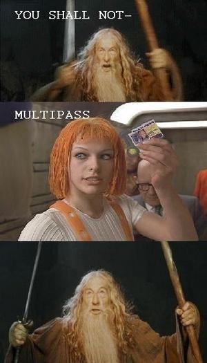 meme - Human - YOU SHALL NOT- MULTIPASS