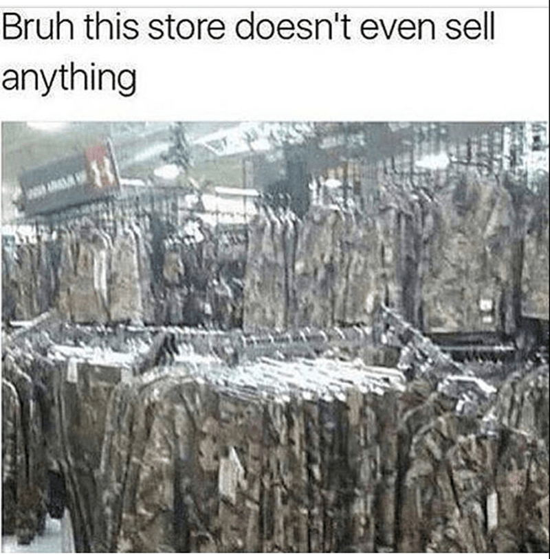 Wall - Bruh this store doesn't even sell anything 8