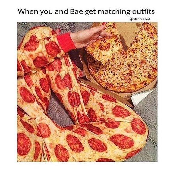 Pepperoni - When you and Bae get matching outfits @hilarious.ted