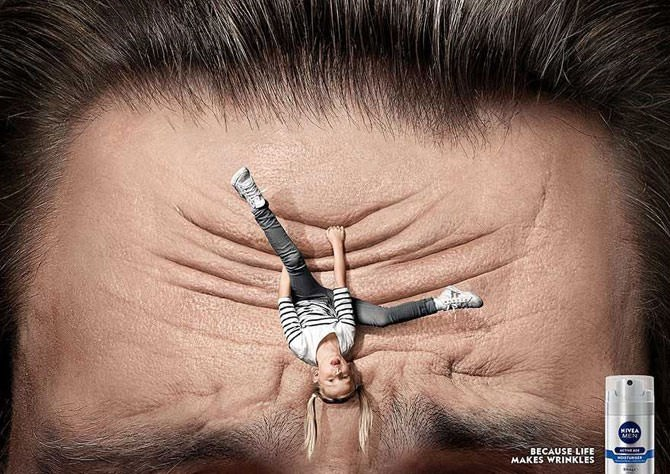 Hair - MIVEA MEN BECAUSE LIFE MAKES WRINKLES ntfunsit