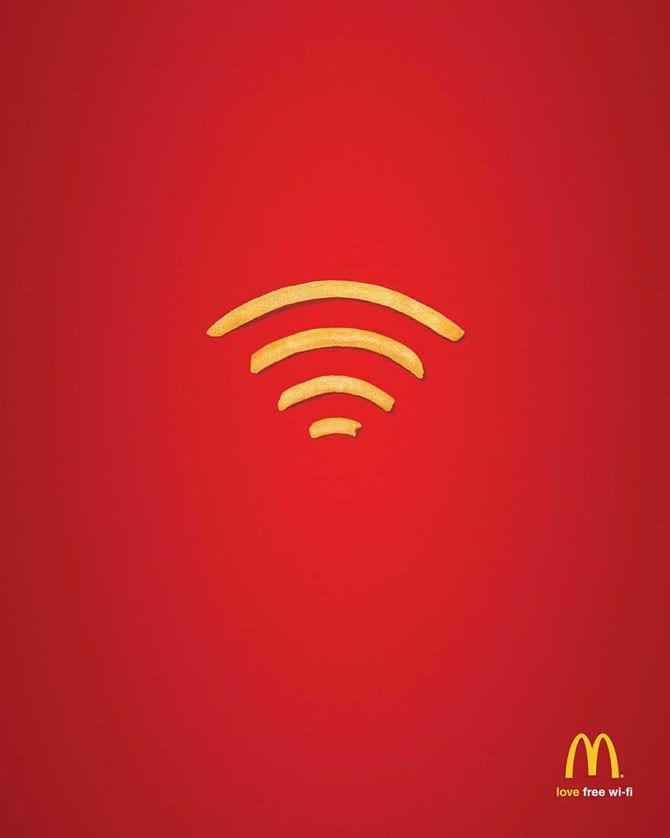 Red - love free wi-fi