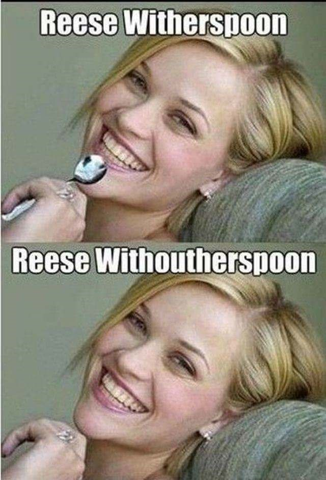 pun - Face - Reese Witherspoon Reese Withoutherspoon