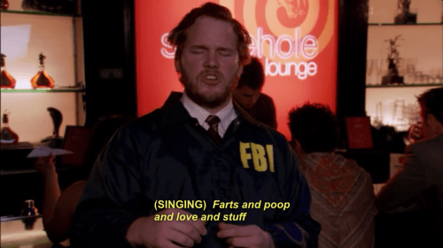 Facial hair - hole ounge FBI (SINGING) Farts and poop and love and stuff