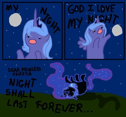 nightmare moon thylamide i'm so alone Memes princess luna - 9112621056