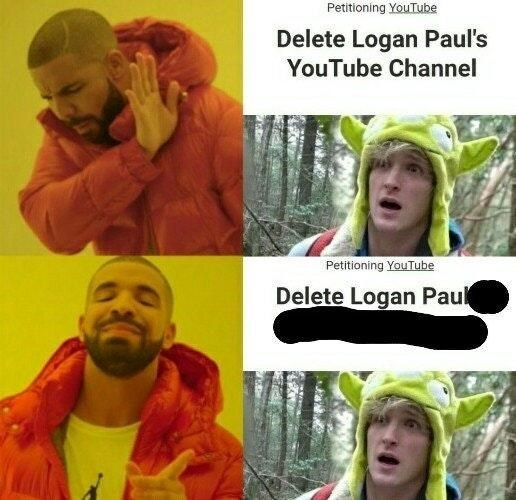 Facial expression - Petitioning YouTube Delete Logan Paul's YouTube Channel Petitioning YouTube Delete Logan Paul