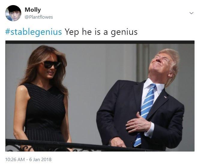 Product - Molly @Plantflowes #stablegenius Yep he is a genius 10:26 AM 6 Jan 2018