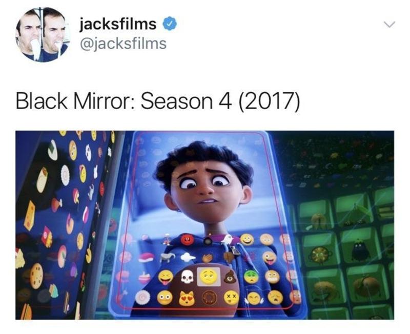 black mirror meme