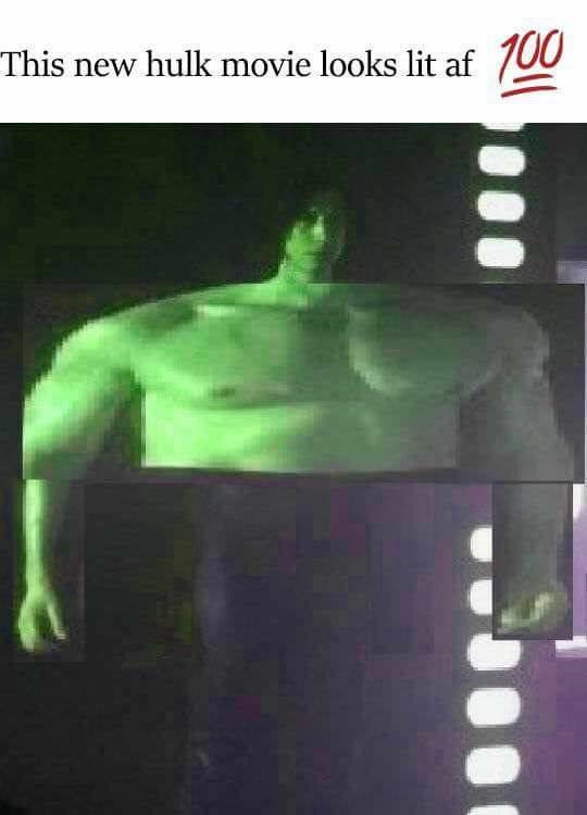 Fictional character - 00 This new hulk movie looks lit af