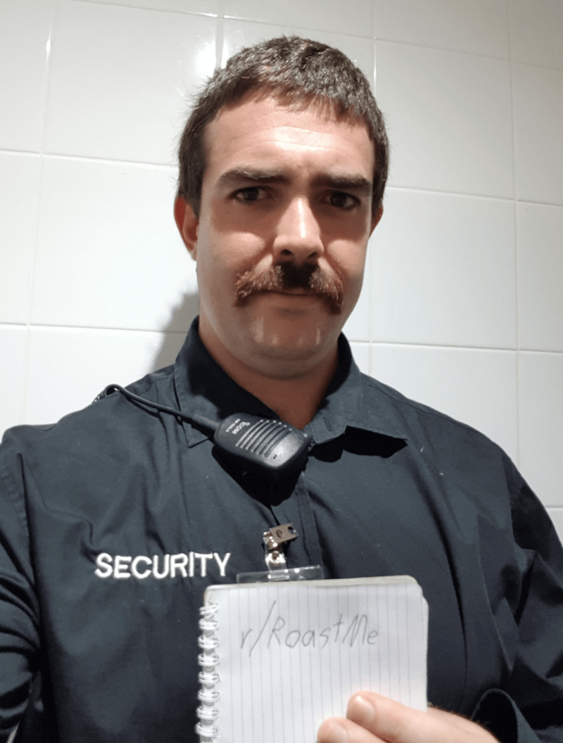 White-collar worker - SECURITY Roastle