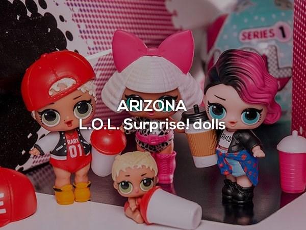 Toy - SERIES ARIZONA LO.L. Surprise! dolls 834CD BABY 01